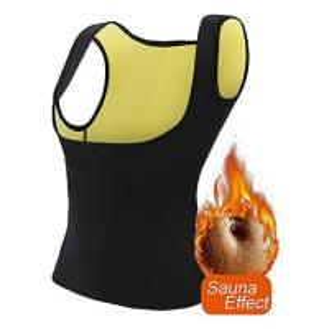 Best Hand Wash Sweat Slimming Vest , Body Shaper Waist Trainer Light Weight Comfortable wholesale