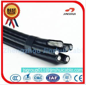 Best Middle Voltage Aluminium Overhead Power Cables Four Core Wire 4 * 95 Size wholesale