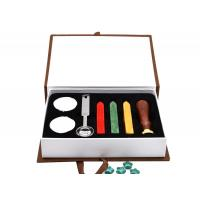 China Wedding Diy Letter Sealing Wax And Wax Seal Stamp Kit Gift Set on sale