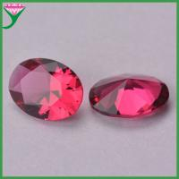 Best wholesale cheap prices oval rose decorative glass stones for jewelry large wholesale