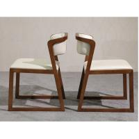 Best Multi Purpose Use Modern Wood Dining Chairs With Leather Seats And Back wholesale