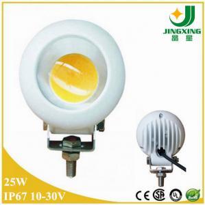 China White color high power 25w led working light for ATV, UTV, SUV, 4X4 on sale