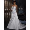 Buy cheap White Designer Cheap Wedding Dress from wholesalers