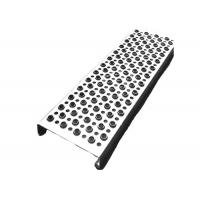 China Aluminum Galvanized Steel Grip Strut Grating , Perforated Grating Stair Treads on sale