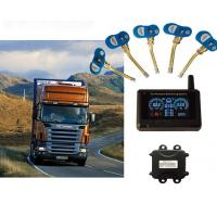 "Buy cheap 24 Wheels with 2.8"" LCD Display Trailer TPMS Tire Pressure Monitoring System product"