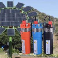 Best Whaleflo orange/black/blue High Performance 12 V/24V Dc Solar Submersible Water Pump Price For Deep Well In Pakistan wholesale