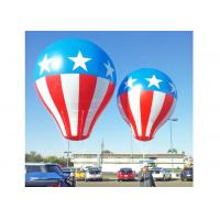 China SGS Approved Inflated Helium Balloons , Outdoor Use Inflatable Advertising Balloons on sale