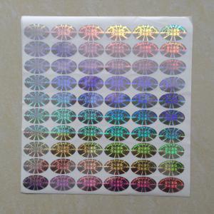 Best CMYK printing color hologram label, silver laser label, 3D label, cheap label printing, china printing company wholesale