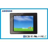 China Thin Industrial Touchscreen Monitor , 800 x 600 Pixel Resistive Touch Monitor wholesale