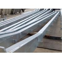 China Galvanized Commercial Steel Buildings , Steel Structure Large Metal Buildings on sale