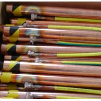 China 1/2 5/8 3/4 Electrolytic Ground Rod , Copper Clad SteelEarth Rod on sale