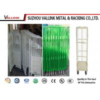 Best 2 Doors Folded Logistics Trolley / Turnover Industry Delivery Trolley wholesale