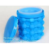 China Kitchen Tools Revolutionary Space Saving Beer Wine BPA free Silicone And PP Ice Cube Maker Genie,Party Drink Tub Chillin on sale