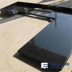 China Black Galaxy Granite Countertop on sale