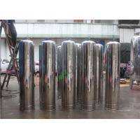 China SS304 Stainless Steel Water Filter Vessel Tank For RO Water Machine on sale