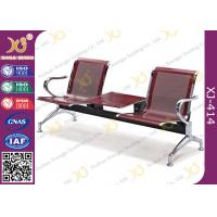 Best Polish Finish Upholstered Public Waiting Chairs For Government Seat Area wholesale