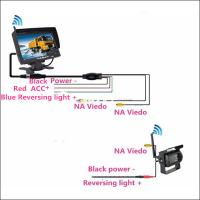 Best Caravan parking assist tool Wireless CMOS Truck Reverse Camera with 7 inch LCD monitor wholesale