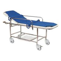 Cheap Stainless Steel Manual Patient Transfer Trolley For Handicapped for sale