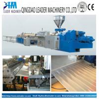 China pvc corrugated roofing sheet/tiles production line on sale