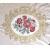China 100% Polyester Embroidered Curtain Fabric Velvet Basic Flower Design wholesale