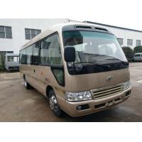 China Brand New Mudan 23 Seats Used Coaster Bus Manual Gear Diesel Engine With AC Right Hand Drive on sale
