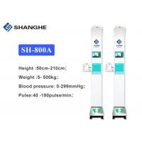 China Height / Weighing Scale Used In Hospitals , Automatic Blood Pressure Monitoring Machine on sale