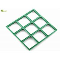 Buy cheap Square Mesh Type Vinyl Ester Drain Grating GRP Car Wash Station Grating from wholesalers