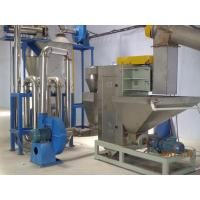 China Industrial PET Bottle Washing Recycling Line , Plastic Bottle Compactor on sale