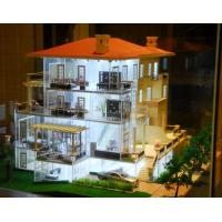 Best Nice Acrylic Scale Model Scenery For  Lighting Villa Building Layout wholesale