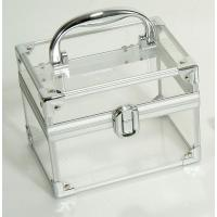 Best portable aluminum cosmetic display case for nail beauty,guangdong luggage wholesale