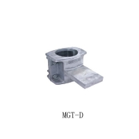China Female T Connector Power Line Fittings For Tubular Bus Bar on sale