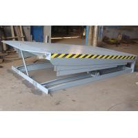 China 13600KG Heavy Duty Capacity Two Oil Cylinder Lifting Forklift Electric Dock Levelers on sale