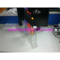 Best Transparent acrylic knives display racks / PMMA knife holder / plexiglass knife stand wholesale