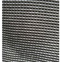 Best Black Microfiber Waffle Fabric  300gsm 150cm Width For Beddings Clothes wholesale