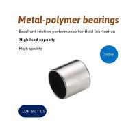 Best Aisi 316 Steel Backed Bushings With Sliding Layer , PTFE Dry Slide Bearings wholesale
