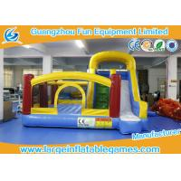 Buy cheap Large Inflatable Jumping Castle With Prices , Inflatable Dry Slide from wholesalers