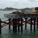 Best Emergency Use Military Pontoon Bridge Easy Assembly HD200 Type Bailey Steel Bridge wholesale