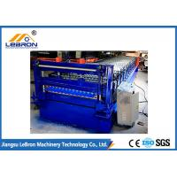 Best 2018 New Design Corrugated Roof Sheet Roll Forming Machine PLC Control Full Automatic made in China wholesale