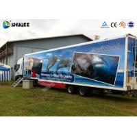 7D Mobile car cinema with motion chair and more special effects