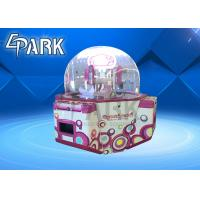 China push candy 4p Sweet Land Candy Vending Machine / Candy Prize Machine for Family Game on sale