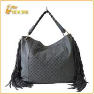 Best Tassel Woven Ladies Fashion PU Handbags wholesale