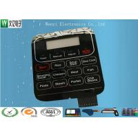 Buy cheap Mirror Effect Backlit Membrane Touch Switch Fast Response Capability Customized from wholesalers