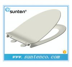 China 2016 Xiamen New Style Soft Close Elongated V Shape Toilet Seat on sale