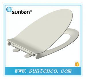 China European Standard Soft Close Elongated V Shape Toilet Seat Covers on sale
