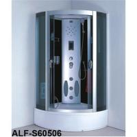 China Steam shower room with round tray ALF-S60506 on sale