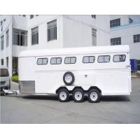 Cheap 6 horse trailer float  angle load for sale