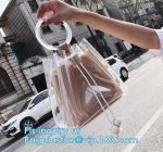 EVA pvc lady packing handbag, Online shop china fashion transparent PVC ladies