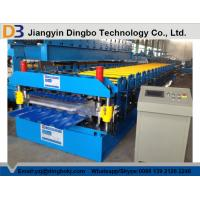 Hydraulic Uncoiler Machine Roof Panel Roll Forming Machine with PLC Vector Inverter Control System