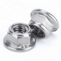China Prevailing Torque Type All Metal Lock Nut Mild Steel Zinc Plate Surface Din6927 on sale