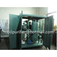 Buy cheap out of door insulated oil purifier,enclosed type transformer oil filtration from wholesalers